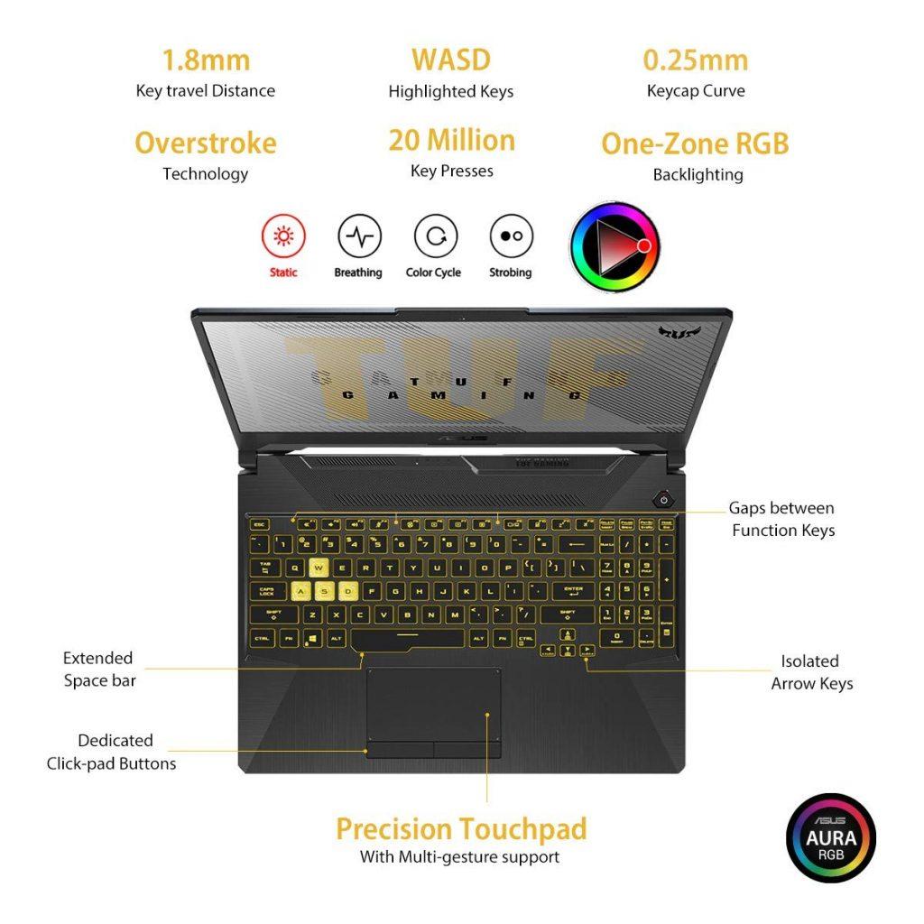 FX566LH BQ275T keyboard