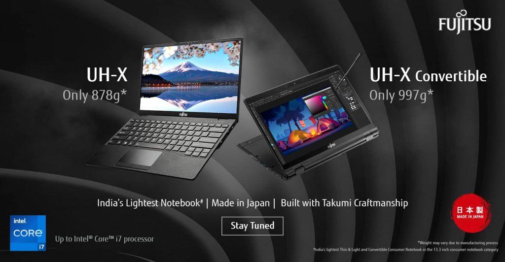 Fujitsu Convertible laptop india