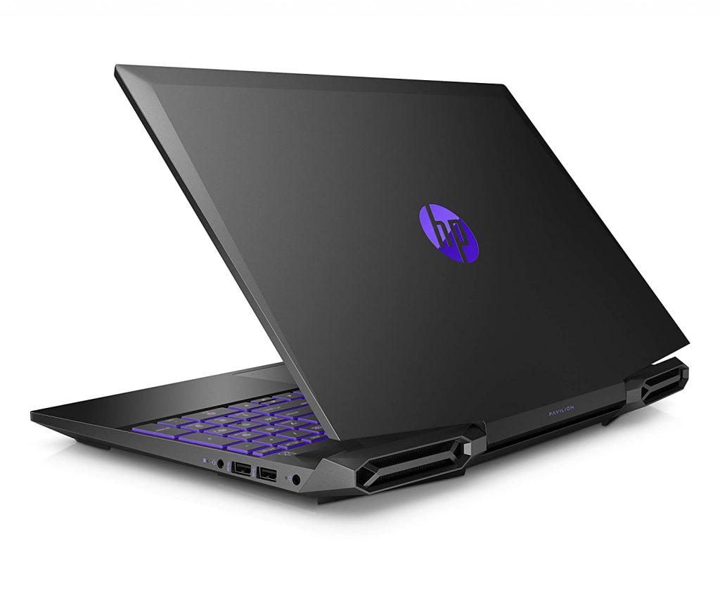 HP 15 dk1146TX Pavilion Gaming Laptop back