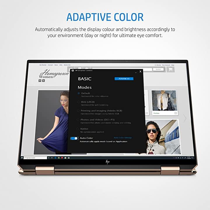 HP Spectre x360 14 ea0538TU Laptop display