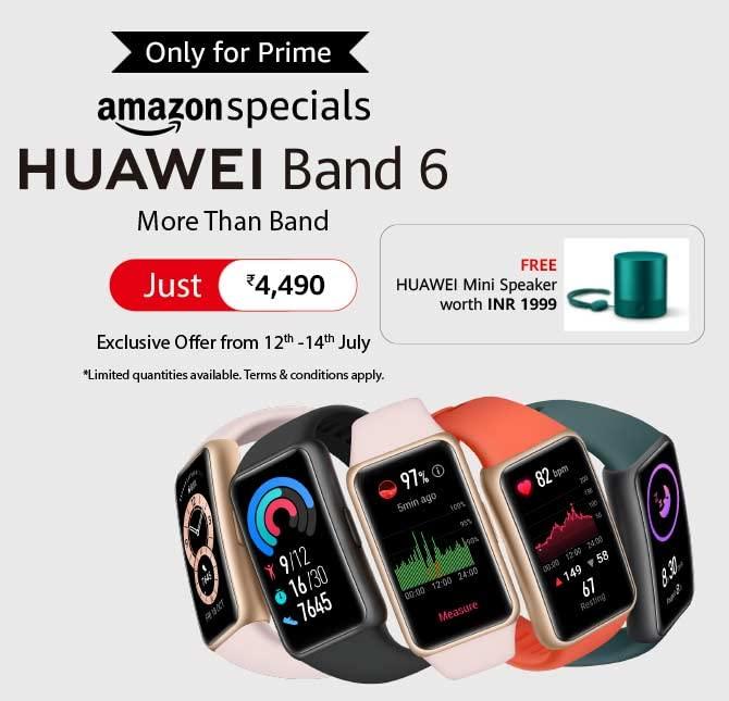 Huawei Band 6 india launch price
