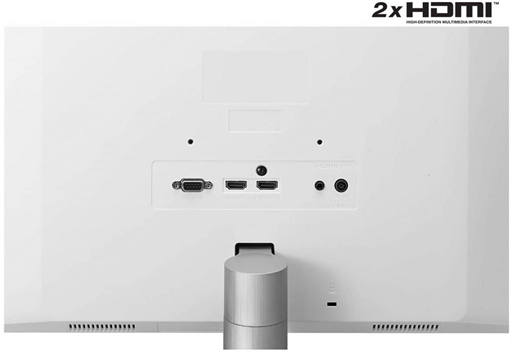 LG 27ML600S Monitor ports