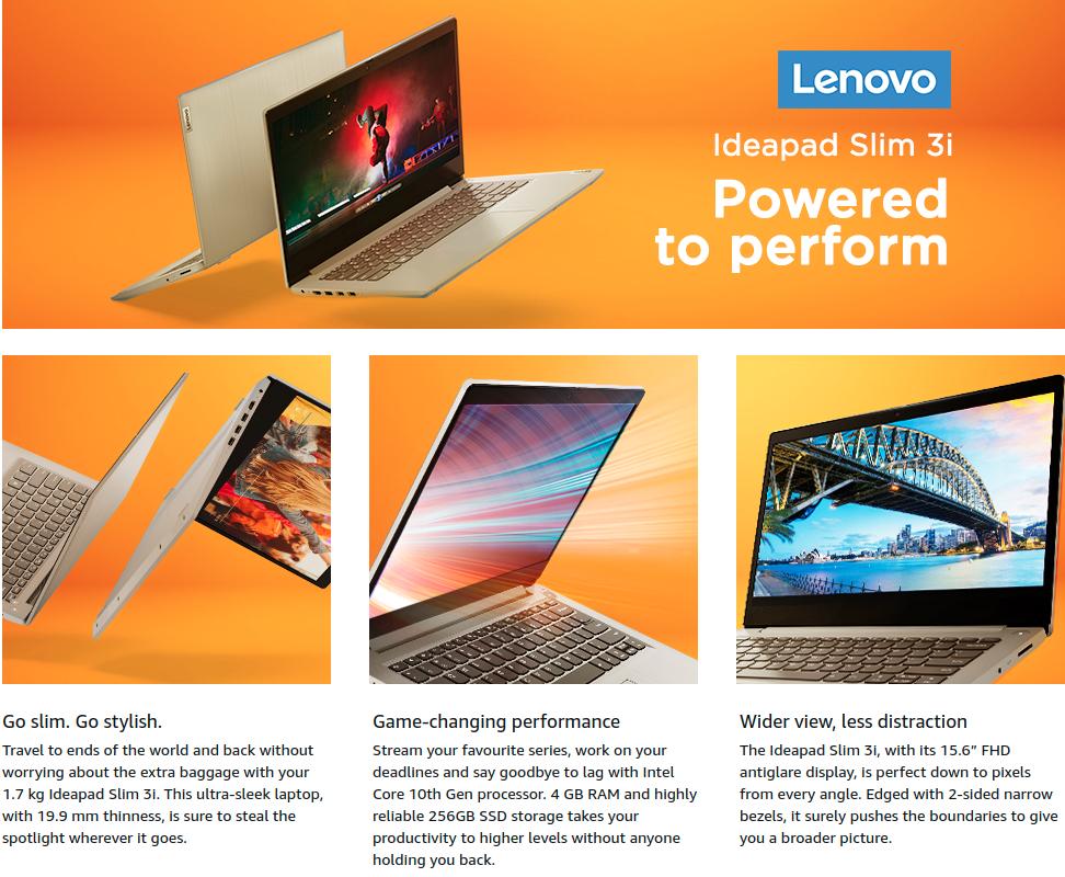 Lenovo IdeaPad Slim 3 81WB0158IN
