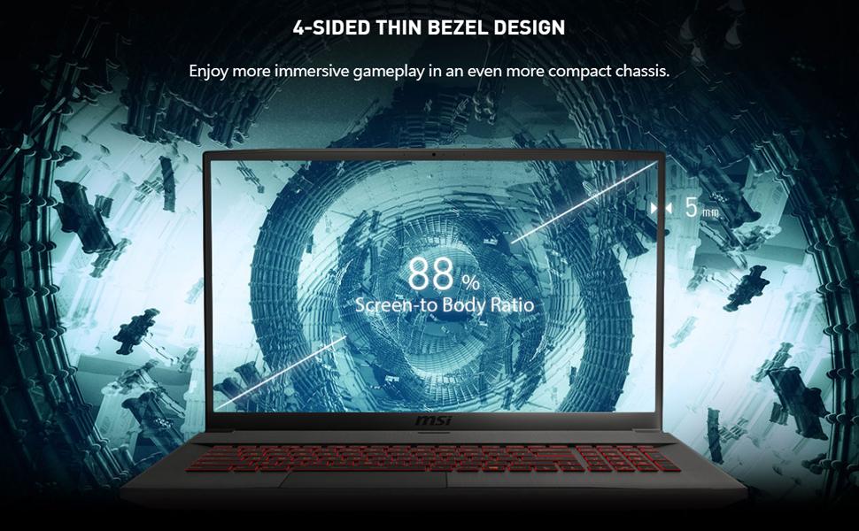 MSI GF75 Thin 10UEK features