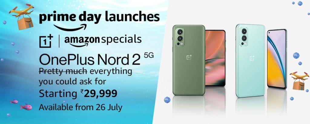 OnePlus Nord 2 5G Amazon India