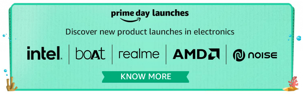 Prime Day 2021 New Launches Electronics