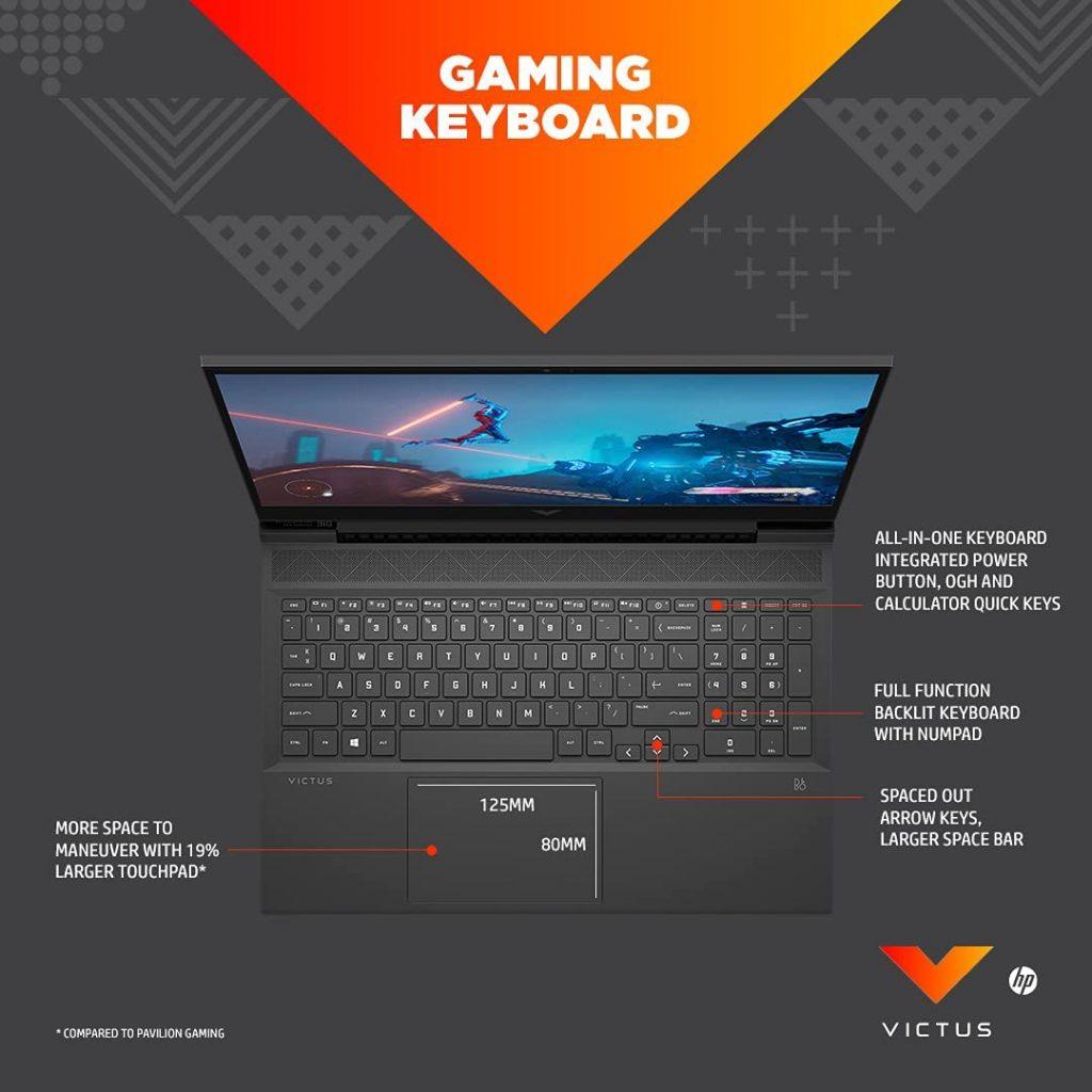 Victus by HP 16 e0076AX keyboard