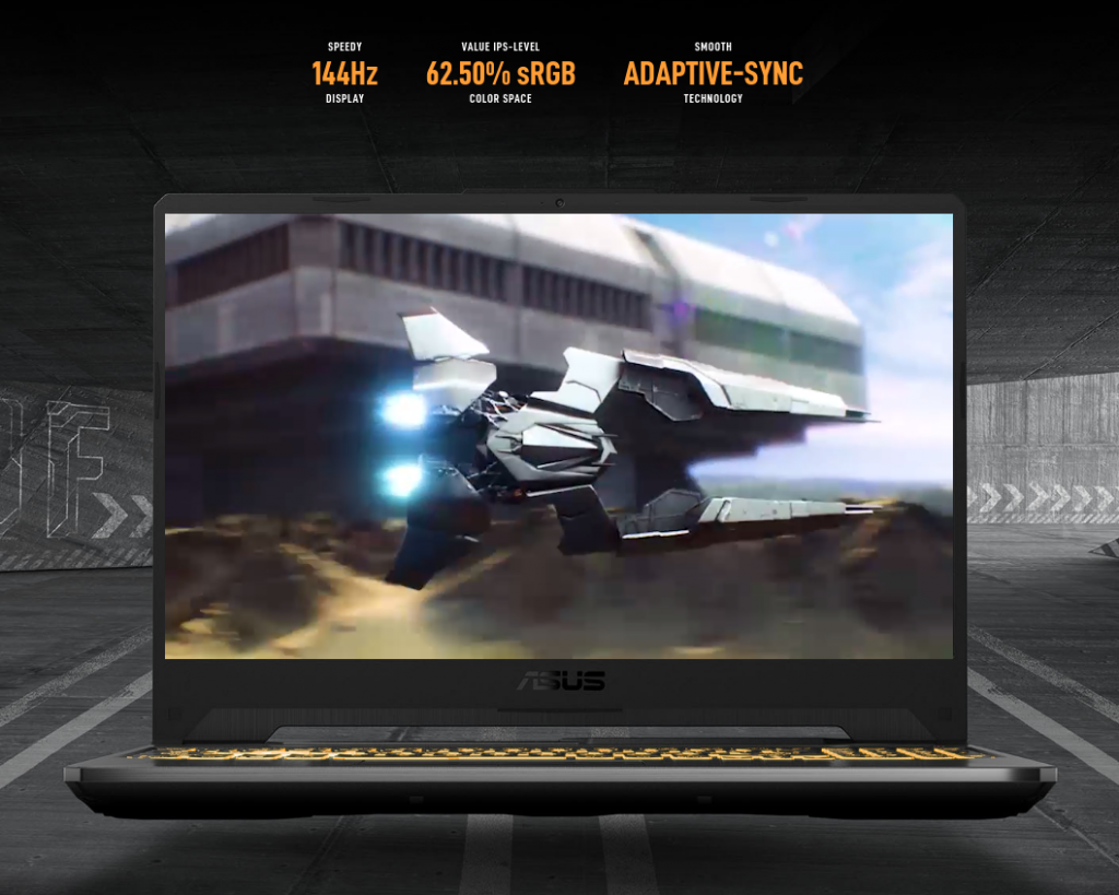 ASUS TUF Gaming A15 2021 display