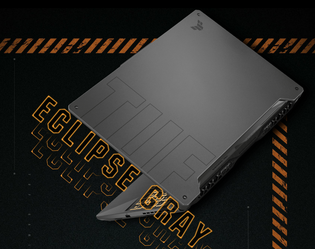 ASUS TUF Gaming F15 2021 Eclipse Gray color