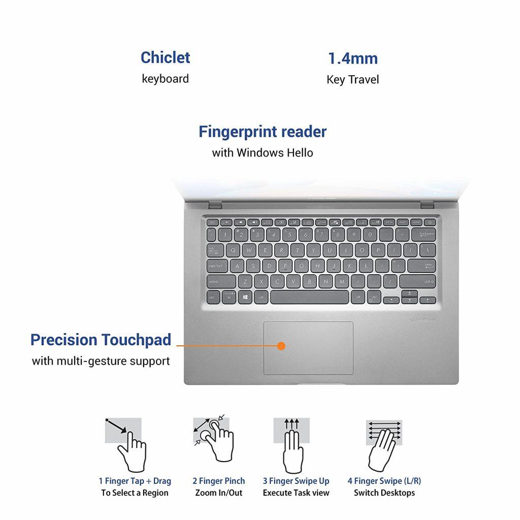 ASUS X415EA EB572TS VivoBook 14 2021 keyboard