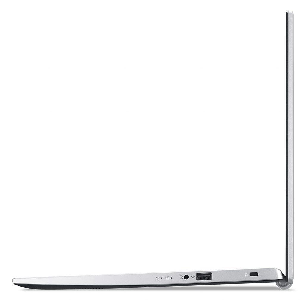 Acer Aspire 3 A315 58G side vuew
