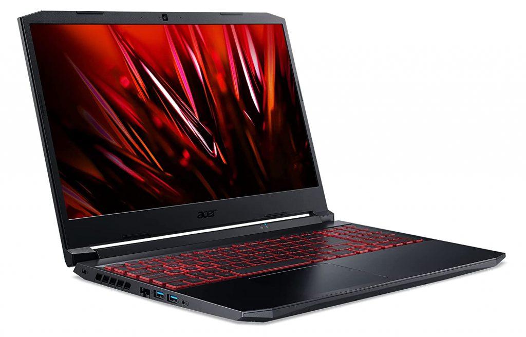 Acer Nitro 5 AN515 57 NH.QD8SI.007 side view