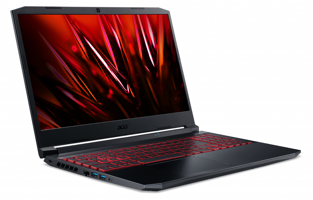 Acer Nitro 5 AN515 57 side view