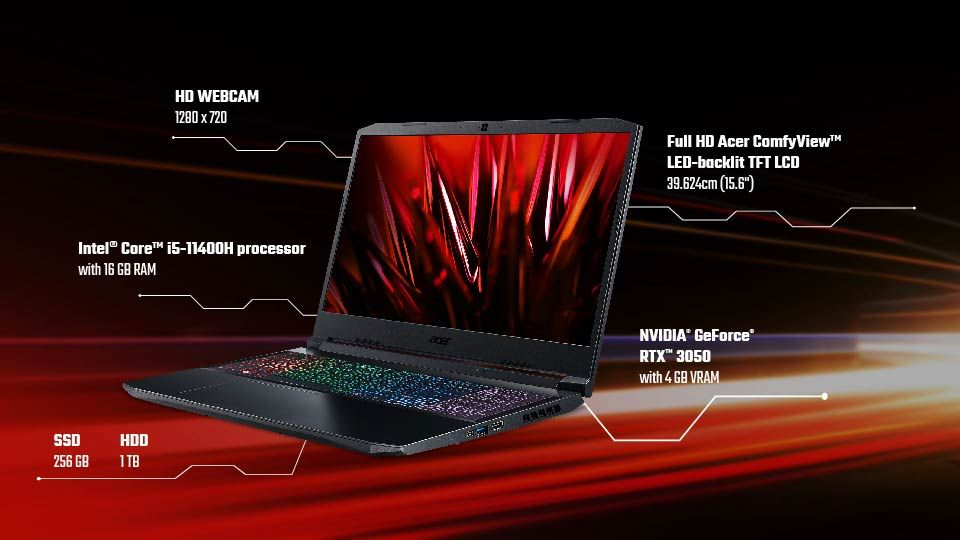 Acer Nitro 5 AN515 57 specification