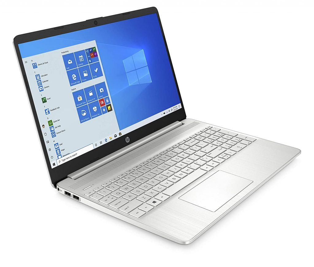 HP 15s ey1004AU side view