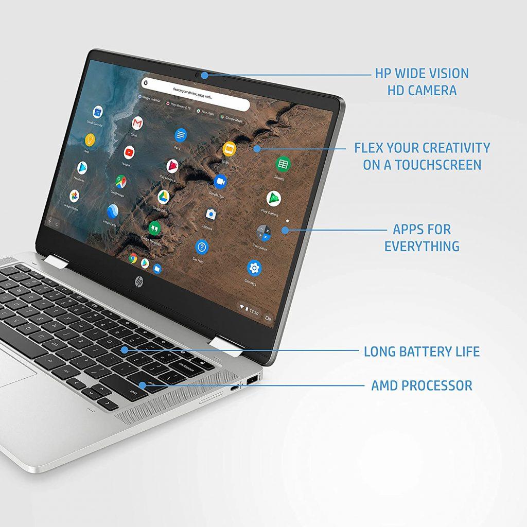 HP Chromebook x360 14a cb0007AU Specs