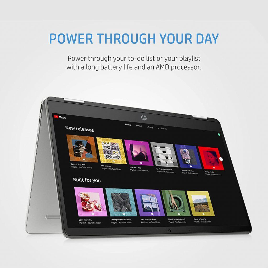 HP Chromebook x360 14a cb0007AU display