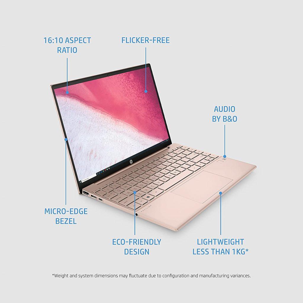 HP Pavilion Aero 13 be0190AU features