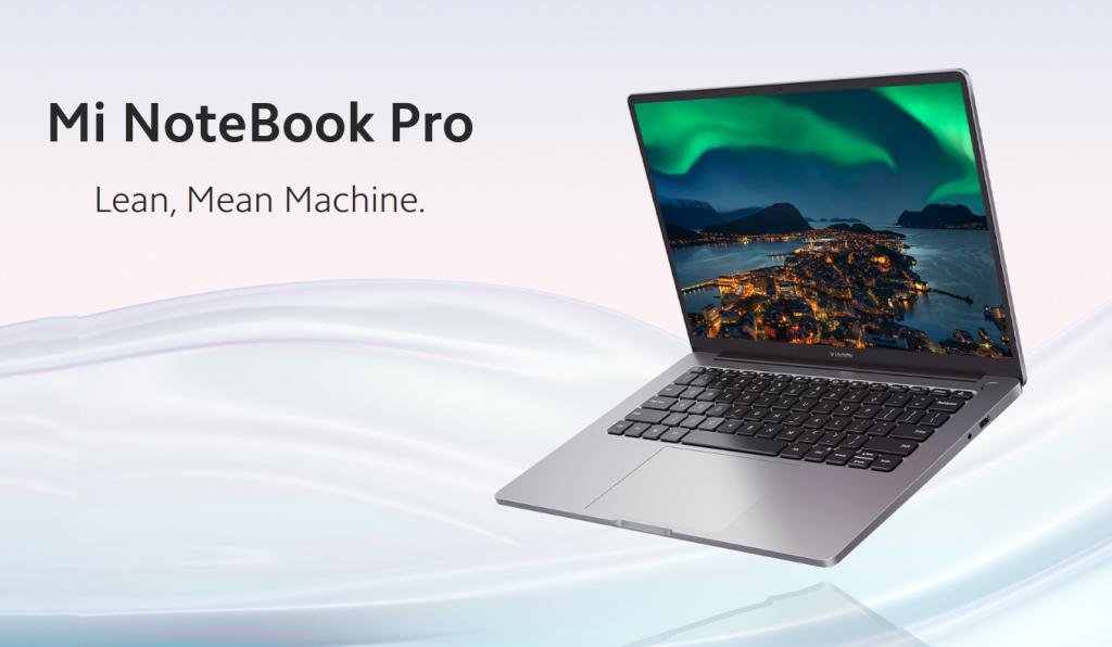 Mi Notebook Pro 2021 Price