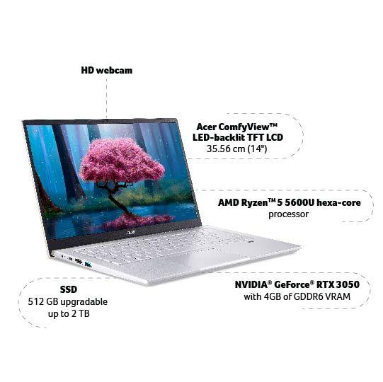 Acer Swift X SFX14 41G Specs