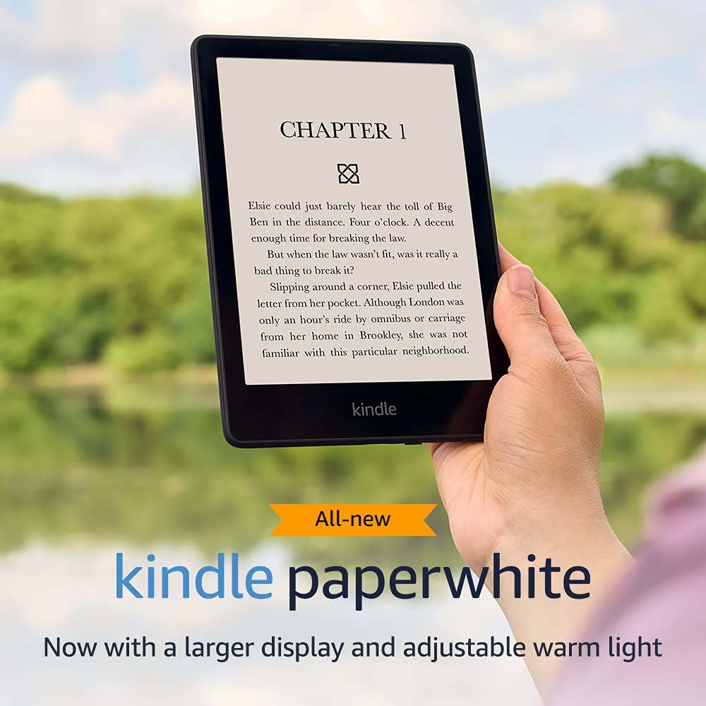 All new Kindle Paperwhite 8 GB