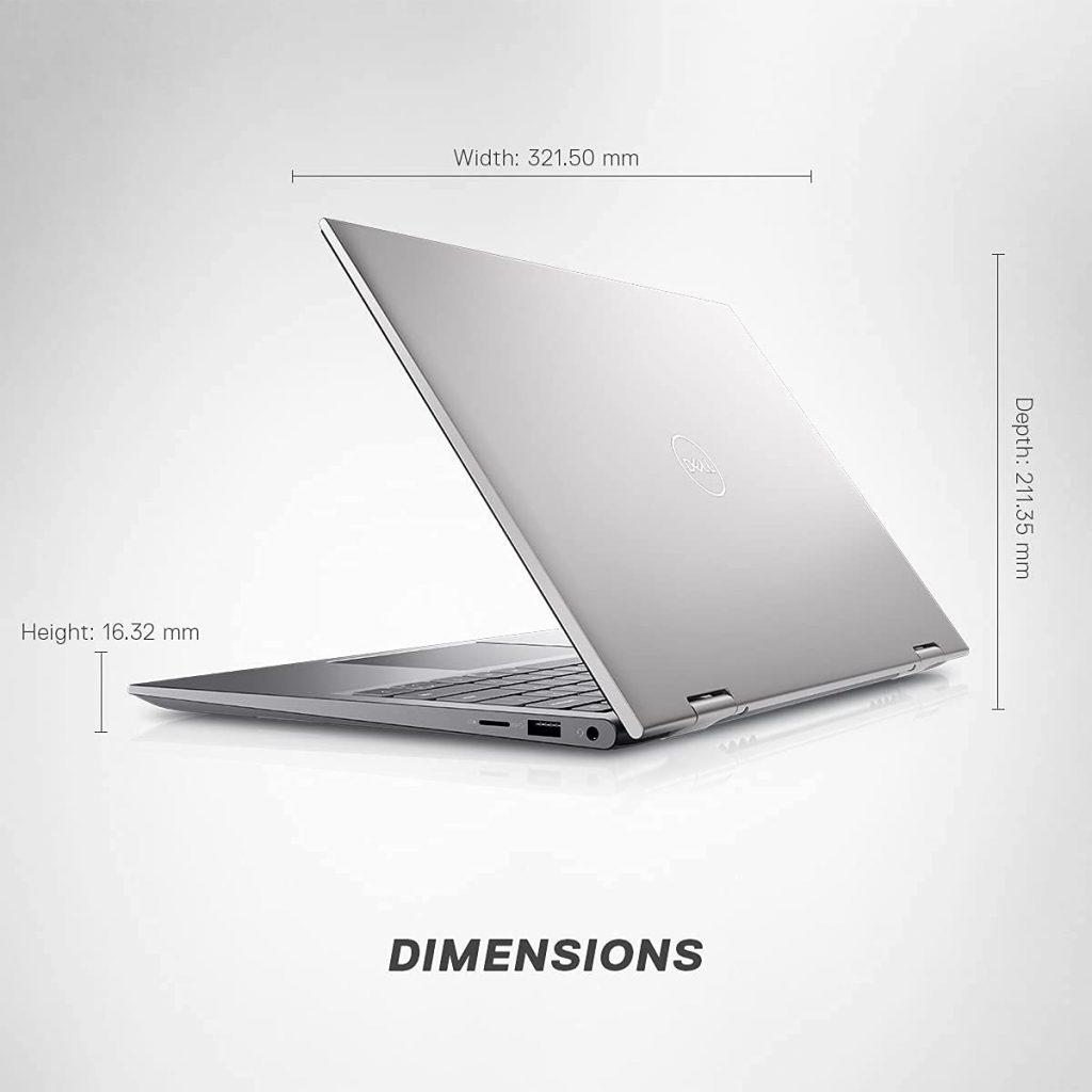 Dell Inspiron 5410 14 2021 D560471WIN9S back