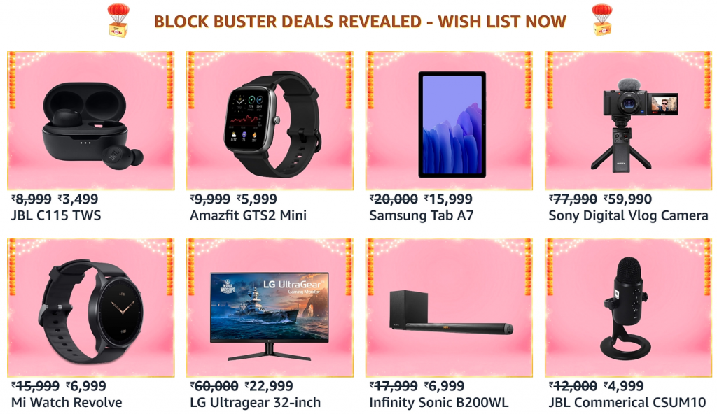 Electronics Offers amazon india