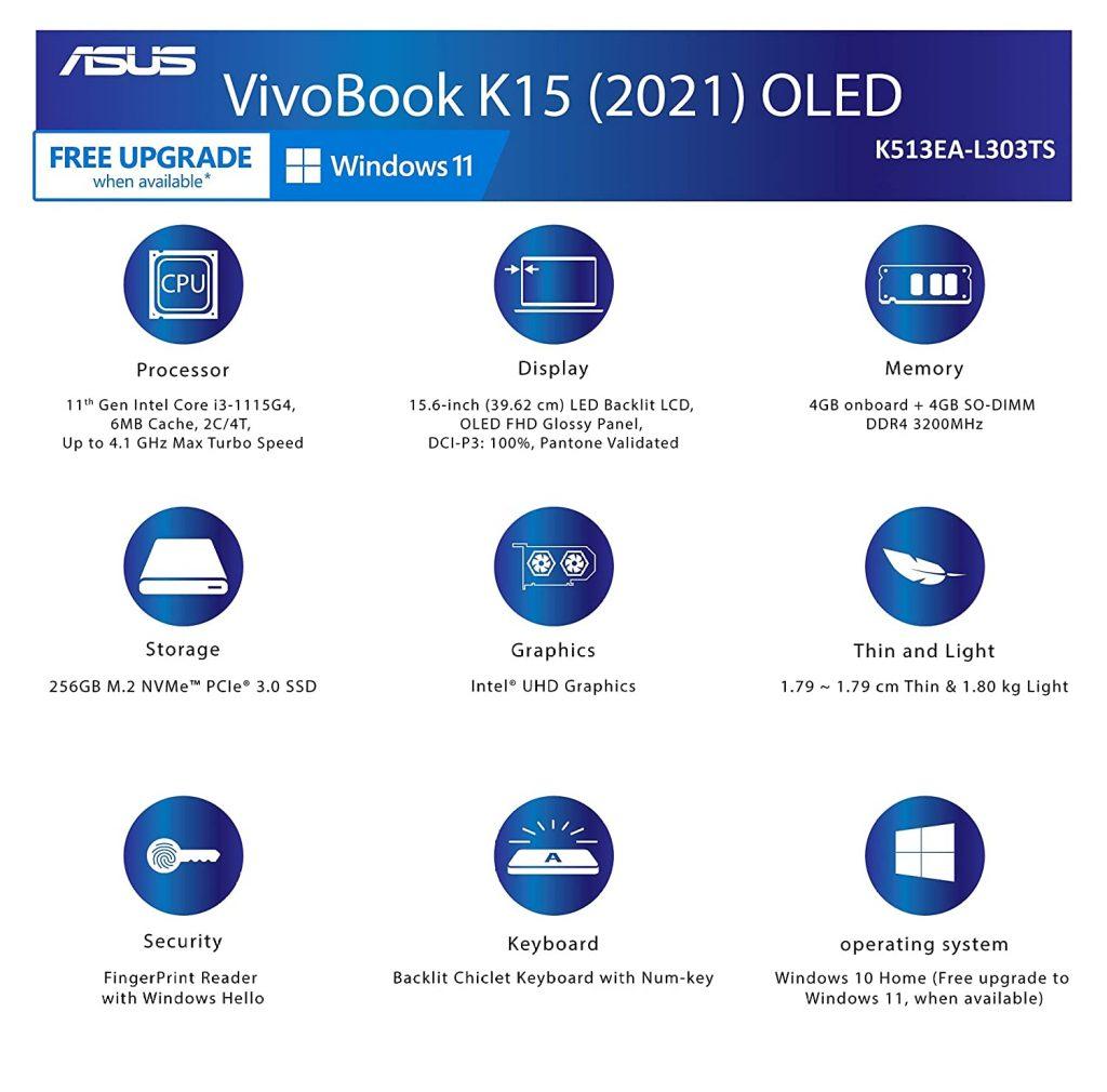 K513EA L303TS Specs