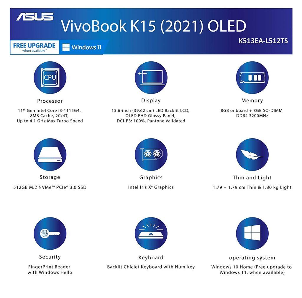 K513EA L512TS Specs
