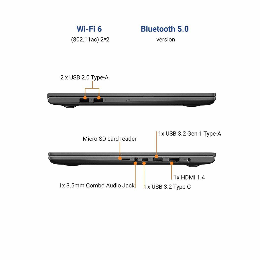 K513EA L512TS USB ports