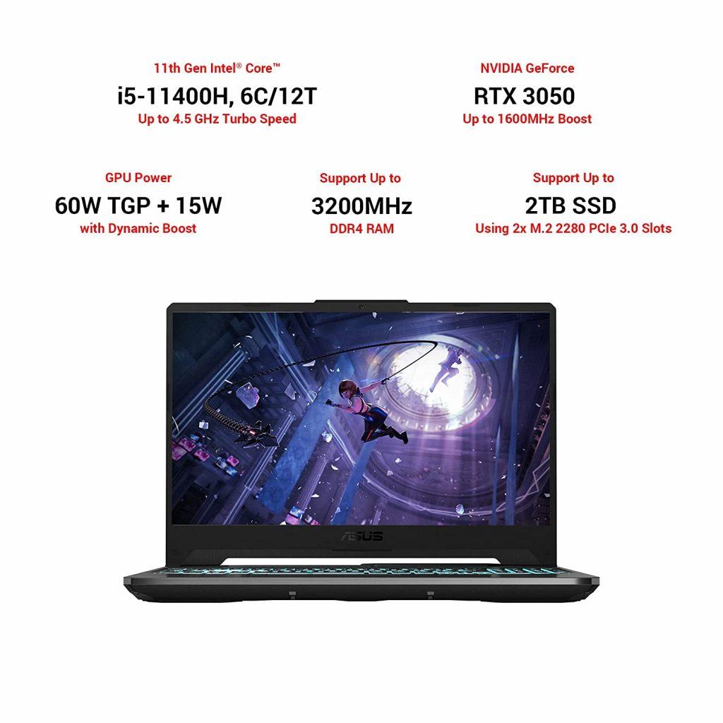 ASUS TUF Gaming F15 FX566HCB-HN229T