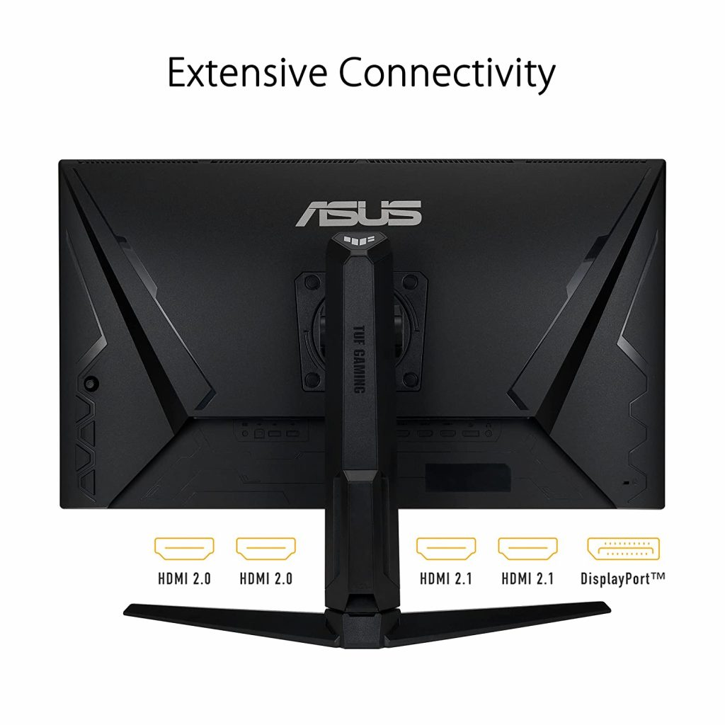 ASUS TUF Gaming VG28UQL1A ports
