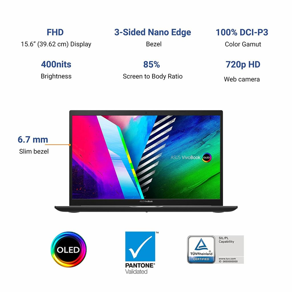 ASUS VivoBook K15 OLED K513EA L712TS Features