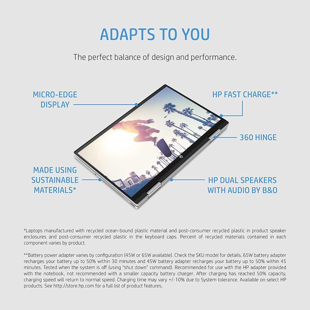 HP Pavilion x360 Convertible 14 dy0053TU features