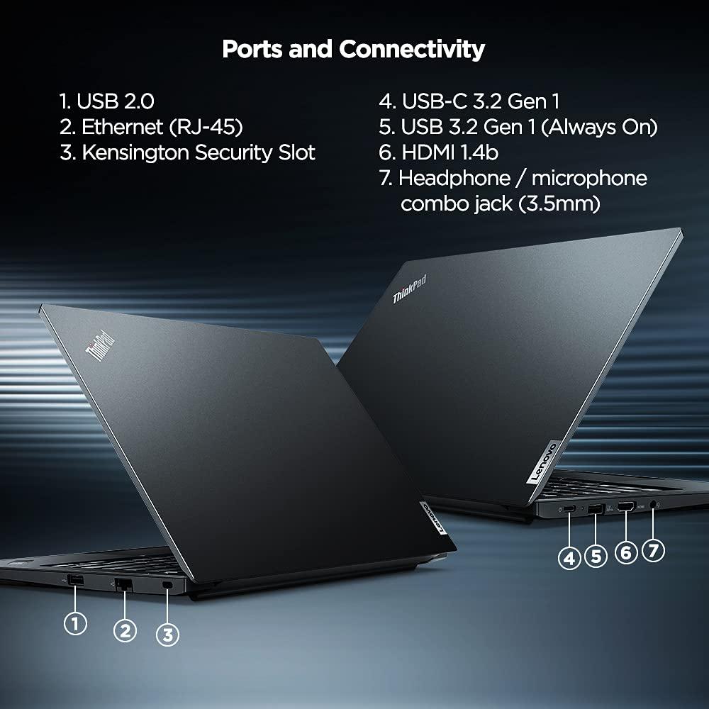 Lenovo ThinkPad E14 2021 20Y7S00R00 ports