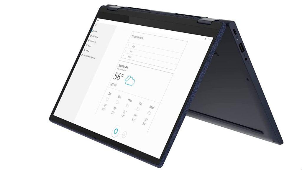 Lenovo Yoga 6 82ND00DNIN tent mode
